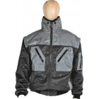 Pilotenjacken Prevent ® DK, zweifarbig Art-Nr.: 174ZA/12, schwarz/grau