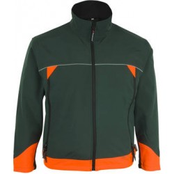 """Waldarbeiter-Bekleidung Prevent® Trendline Softshell-Jacke """"Forst""""  Art-Nr.: PTSF"""