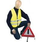 Warnschutz Warnweste neongelb  Art-Nr.: WTG