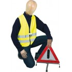 Warnschutz Warnweste neongelb  Art-Nr.: WTG-146